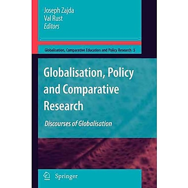 Springer Globalisation, Policy and Comparative Research, Volume 5 Paperback Book