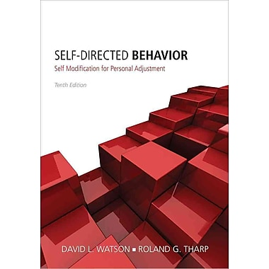 Cengage Learning® Self-Directed Behavior Book