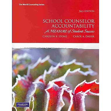 Pearson School Counselor Accountability: A MEASURE of Student Success Book