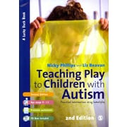 Sage Publications Teaching Play to Children with Autism Book