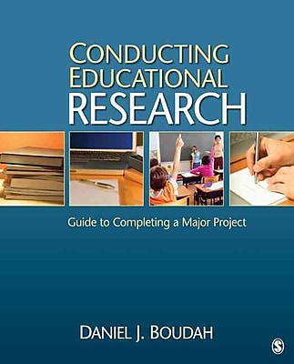 Sage Publications Conducting Educational Research Book