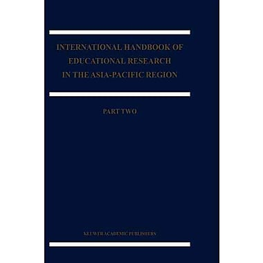 Springer International Handbook on Educational Research in the Asia Pacific Region, Volume 11 Book