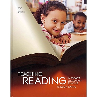 Cengage Learning® Teaching Reading in Today's Elementary Schools Book