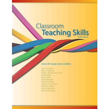Cengage Learning® Classroom Teaching Skills Paperback Book