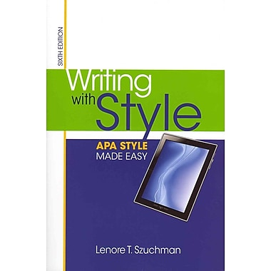 Cengage Learning® Writing with Style Book