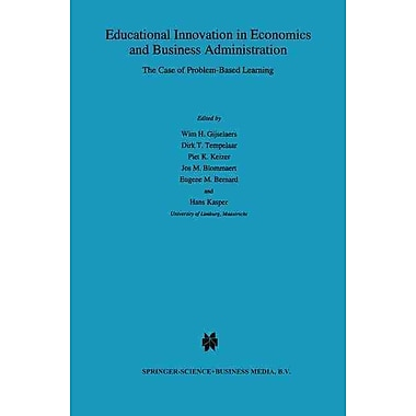 Springer Educational Innovation in Economics and Business Administration: The Case.. Book