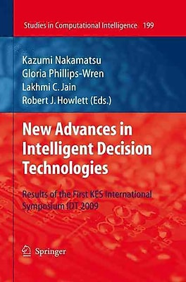 Springer New Advances in Intelligent Decision Technologies Book