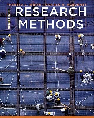 Cengage Learning® Research Methods Hardback Book