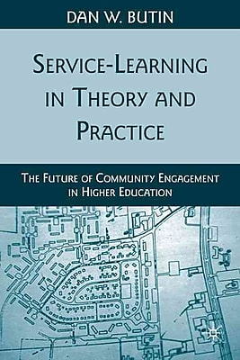 Palgrave Macmillan Service-Learning in Theory and Practice Paperback Book