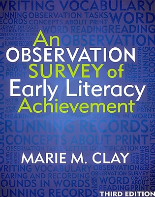 Heinemann An Observation Survey of Early Literacy Achievement Book