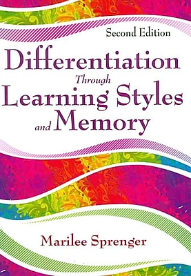 Corwin Differentiation Through Learning Styles and Memory Paperback Book