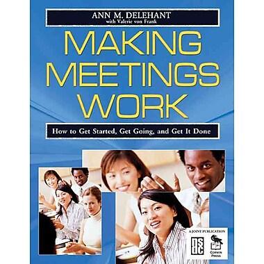 Corwin Making Meetings Work Book