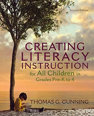 Pearson Creating Literacy Instruction for All Children Book