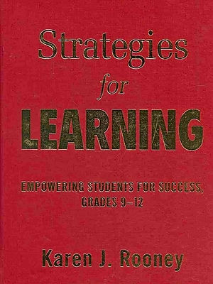Corwin Strategies for Learning: Empowering Students for Success Book