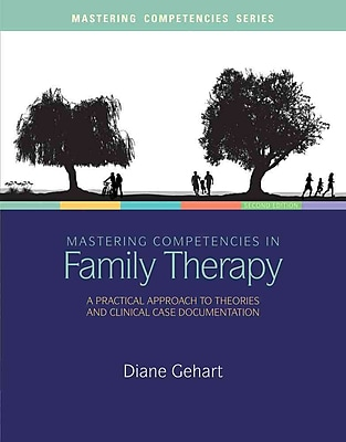 Cengage Learning® Mastering Competencies in Family Therapy Book