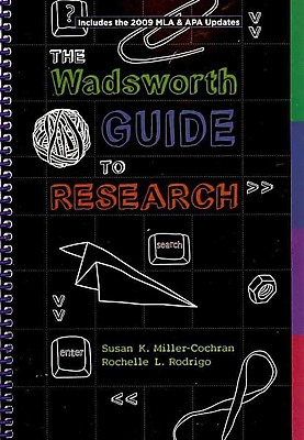Cengage Learning® Wadsworth Guide to Research Book