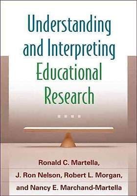 Guilford Press Understanding and Interpreting Educational Research Paperback Book