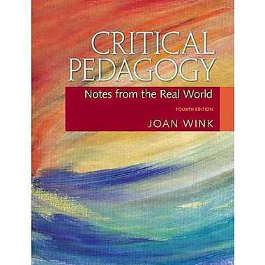 Pearson Critical Pedagogy: Notes from the Real World Book