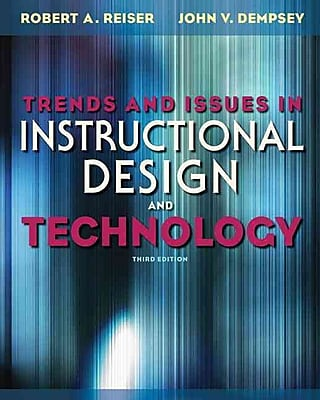 Pearson Trends and Issues in Instructional Design and Technology Book