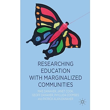 Palgrave Macmillan Researching Education With Marginalized Communities Book
