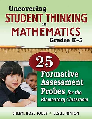 Corwin Uncovering Student Thinking in Mathematics Book, Grades K - 5