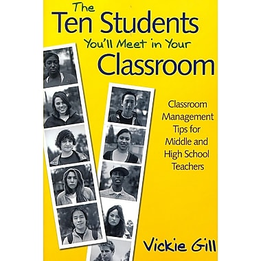 Corwin The Ten Students You'll Meet in Your Classroom: Classroom Management Tips... Book