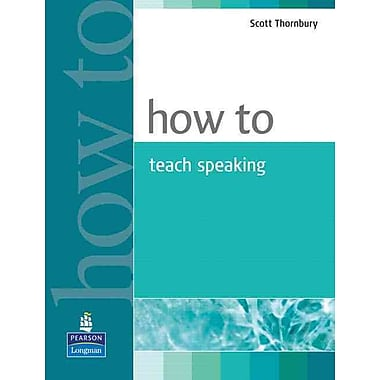 Pearson How to Teach Speaking Book, New Book