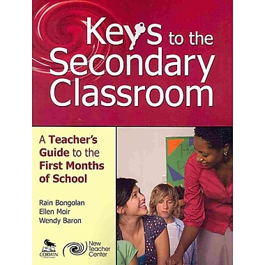 Corwin Keys to the Secondary Classroom: A Teacher's Guide to the First Months of School Book