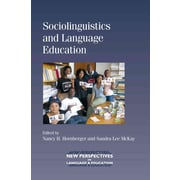 UTP Distribution Sociolinguistics and Language Education Paperback Book