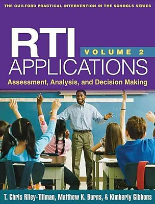 Guilford Press RTI Applications: Assessment, Analysis, and Decision Making Book