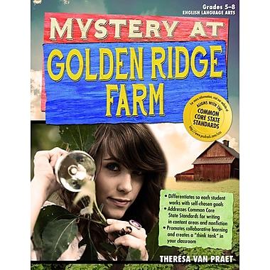 Sourcebooks Mystery at Golden Ridge Farm Book, Grades 5 - 8