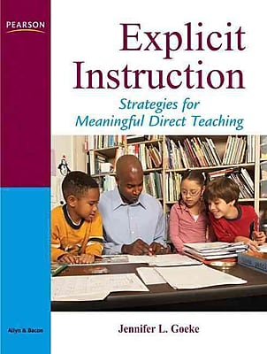 Pearson Explicit Instruction: Strategies for Meaningful Direct Teaching Book