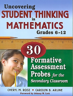 Corwin Uncovering Student Thinking in Mathematics Book, Grades 6 - 12