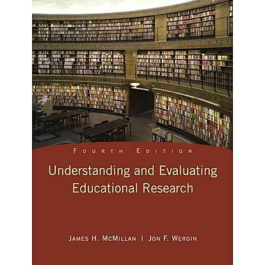 Pearson Understanding and Evaluating Educational Research Book