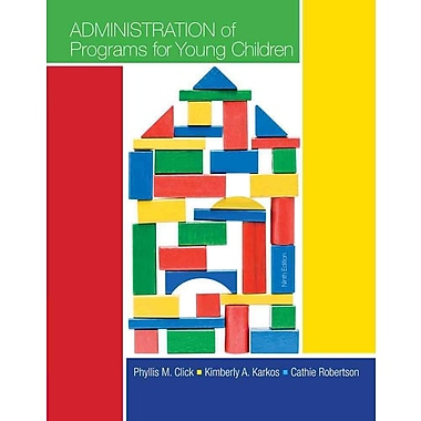 Cengage Learning® Administration of Programs for Young Children Book