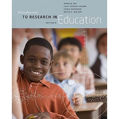 Cengage Learning® Introduction to Research in Education Book
