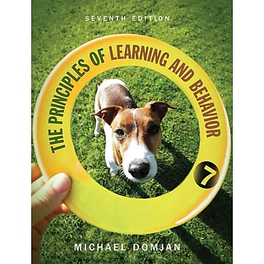 Cengage Learning® The Principles of Learning and Behavior Book, Used Book