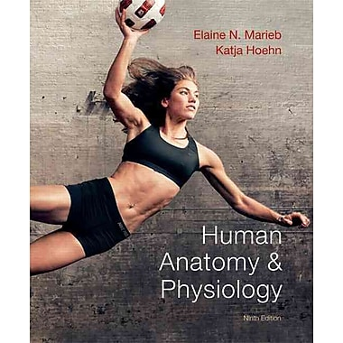 Pearson Human Anatomy & Physiology Book, 9th Edition, Used Book