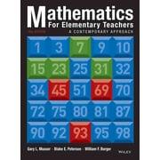 John Wiley & Sons 10 Edition Mathematics for Elementary Teachers Book