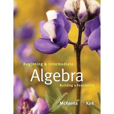 Pearson Beginning and Intermediate Algebra Book