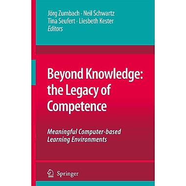 Springer Beyond Knowledge: The Legacy of Competence Softcover Book