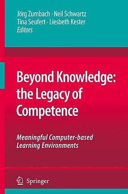 Springer Beyond Knowledge: The Legacy of Competence Hardback Book