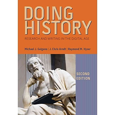 Cengage Learning® Doing History Book
