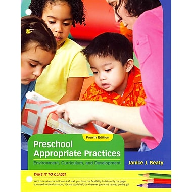 Cengage Learning® Preschool Appropriate Practices Paperback Book