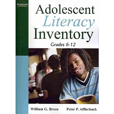 Pearson Adolescent Literacy Inventory Book