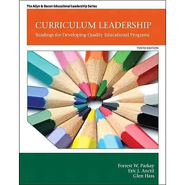 Pearson Curriculum Leadership: Readings for Developing Quality Educational Programs Book