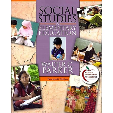 Pearson Social Studies in Elementary Education Book, 14th Edition