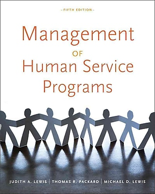Cengage Learning® Management of Human Service Programs Book