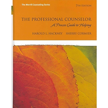 Pearson The Professional Counselor: A Process Guide to Helping Book, New Book