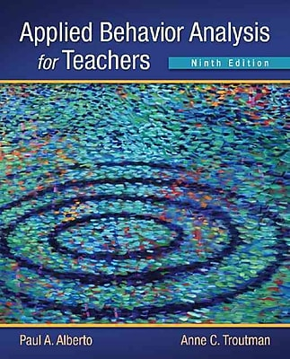 Pearson Applied Behavior Analysis for Teachers Book